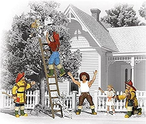 Woodland Scenics N Firemen to the Rescue WOOA2151 by Woodland Scenics