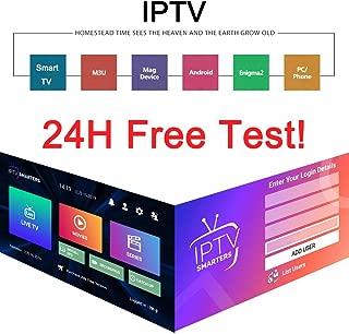 Smart IPTV Subscription 6300+Channels UK USA Belgium Sweden France Arabic Canada IPTV Code M3U 4K HD Smart TV Box Android -1 Year Code
