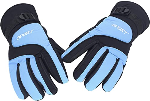 high quality OPTIMISTIC online Winter Ski Gloves for Women and Men Warm Winter Snow lowest Skiing Gloves with Long Cuff and Adjutable Wrist Strap for Outdoor Cycling Snowboarding Skiing outlet online sale