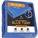 Better Blue Poly Tarp 30' x 50' -...