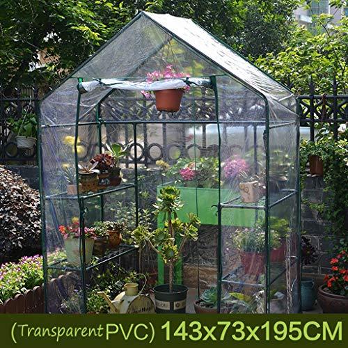 3 Niveau Greenhouse Jardin, Jardin Smart for Intérieur Extérieur Herb Flower Garden Balcon Cultivez Maison Portable (Color : C)