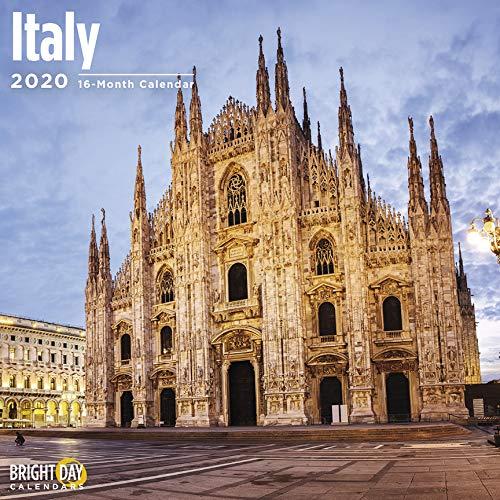 Italy Wall Calendar 2020