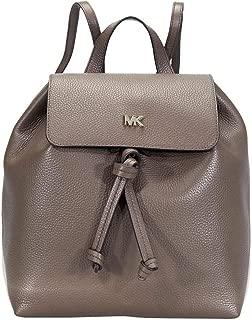 MICHAEL Michael Kors Junie Medium Pebbled Leather Backpack (Mushroom)