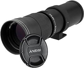 عدسة تكبير يدوية فائقة الدقة 420-800 مم F/8.3-16 HD مع حامل T متوافقة مع كاميرا كانون نيكون مينولتا سوني بينتاكس أولمبس دي اس ال ار