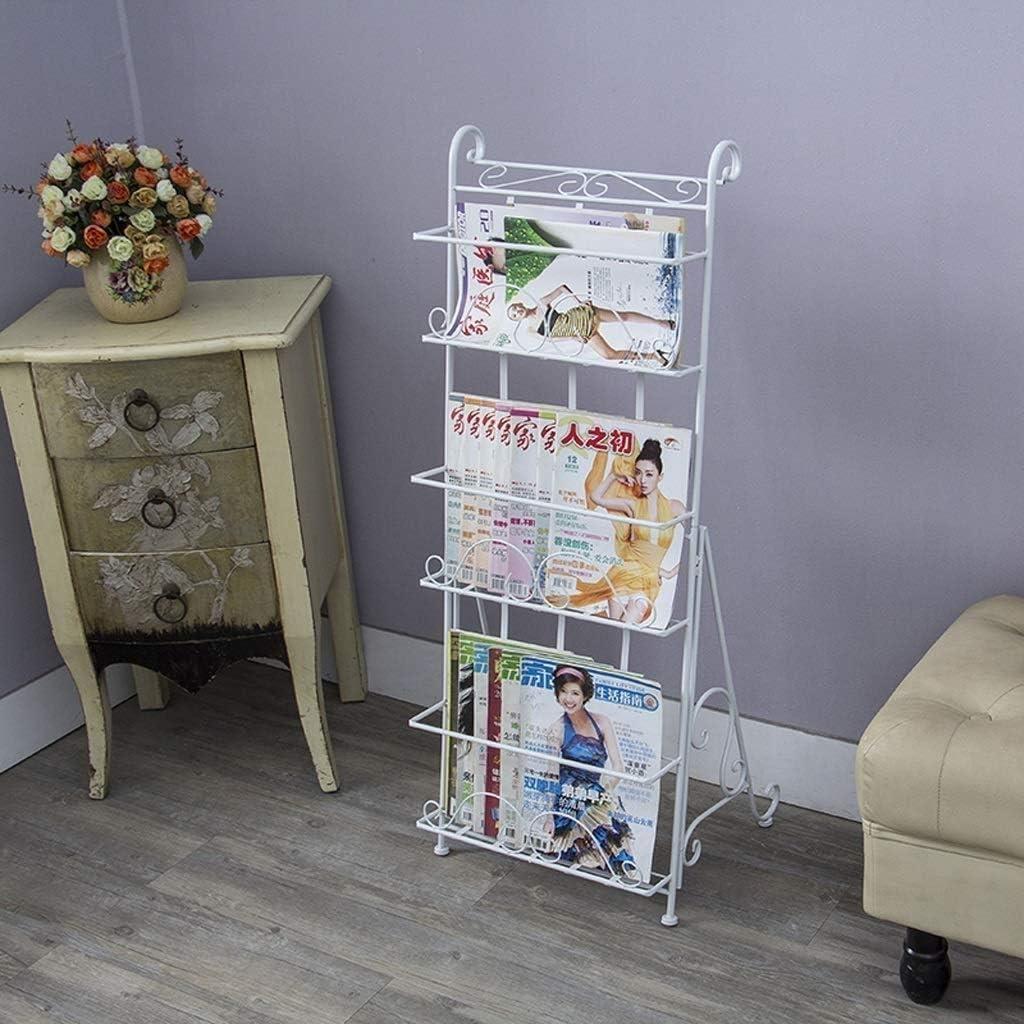 BJLWTQ Bookshelf Online limited product Magazine Rack Europea gift Information Frame Landing