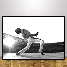 JYWDZSH Canvas Print Poster and Prints Freddie Mercury Bohemian Rhapsody Queen Wall Art Canvas Painting Wall Pictures for Living Room Home Decor