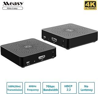 Measy W2H 4KデジタルシリーズワイヤレスHDMIエクステンダー/アダプタ/ドングル30M / 100feet超HD 4K 30HZ HDCPをサポートする1.4ワイヤレスオーディオトランスミッタ(トランスミッタ+レシーバ)