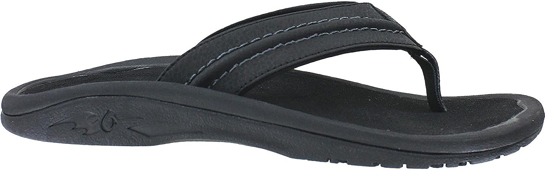 Olukai Hokua Sandals Sandals Sandals (herrar) 8 Onyx  grossist billig och hög kvalitet