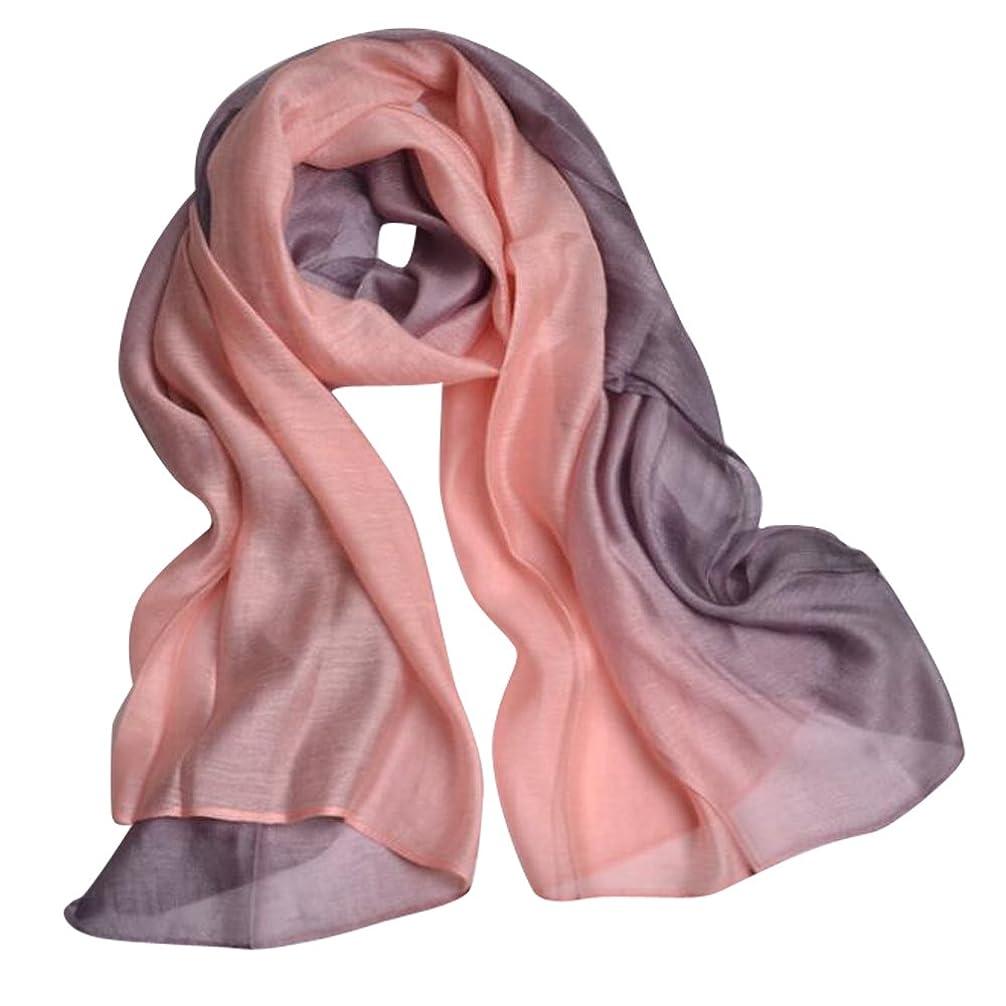 禁輸メイン叱るJL マフラー レディース 絹のスカーフ 大判 薄手 ストール シルク ショール