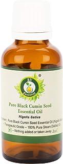 ピュアブラッククミンシードエッセンシャルオイル5ml (0.169oz)- Nigella Sativa (100%純粋&天然スチームDistilled) Pure Black Cumin Seed Essential Oil