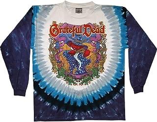 Grateful Dead Men's Terrapin Moon Tie Dye Long Sleeve Multi
