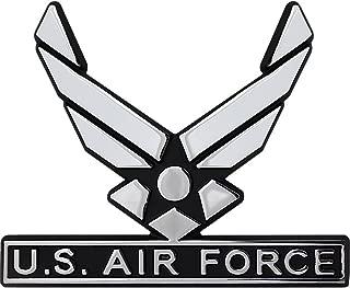 U.S. Air Force Hap Arnold Wings Chrome Auto Emblem