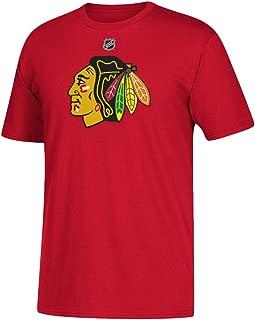 adidas Corey Crawford Chicago Blackhawks NHL Men's Red Player T-Shirt