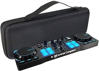 MASiKEN EVA Hard Case for Hercules DJControl Compact Portable DJ Controller - Travel Protective Carrying Storage Bag