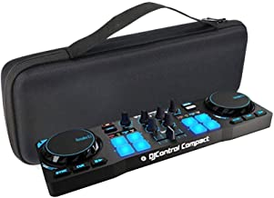 MASiKEN EVA Hard Case for Hercules DJControl Compact Portable DJ Controller - Travel Protective Carrying Storage Bag