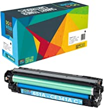 Do it Wiser Compatible Toner Cartridge Replacement for HP 651A CE341A for use in HP Laserjet Enterprise 700 MFP M775 M775dn (Cyan)