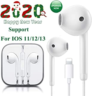 Lighting Connector Earbuds Earphone Wired Headphones Headset with Mic and Volume Control,Isolation Noise,Compatible with Apple iPhone 11 Pro Max/Xs Max/XR/X/7/8 Plus Plug and Play Floppy Diskettes
