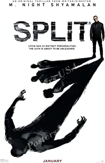 Posters USA Split 2017 Movie Poster GLOSSY FINISH - MOV598 (24