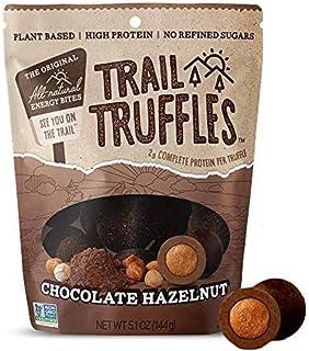 TRAIL TRUFFLES – Dark Chocolate Nut-Butter Filled Protein Bites – Healthy, Plant Based, Gluten Free, Dairy ...