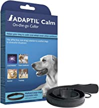 ADAPTIL Calm On-the-Go Collar, helps dogs cope with behavioural issues and life challenges, Medium/Large Dogs