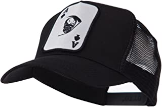 Skull and Choppers Embroidered Military Patched Mesh Cap