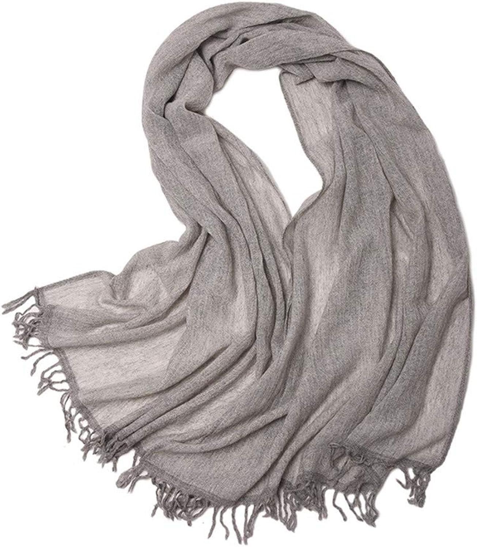 AFBLR shawl cloak Pure wool scarf fluffy plain worsted shawl