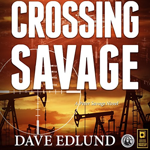 Crossing Savage audiobook cover art