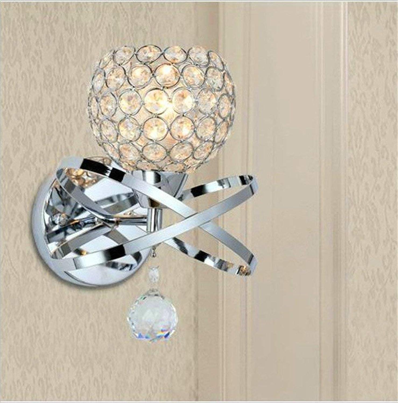 SED Wandleuchte -Bedside Lampe Crystal Art Lampe Nachttischlampe Wohnzimmer Schlafzimmer Esszimmer Korridore durch die Strae Licht Hotel Villa Zimmer Gang Tür Dekoration Licht