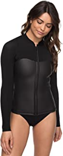 Womens 2Mm Satin Front Zip Wetsuit Top for Women Erjw803009
