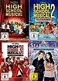 High School Musical 1 + 2 + 3 Collection + Starstruck [4er DVD-Set]