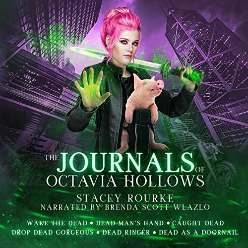 The Journals of Octavia Hollows: Books 1-6 audiobook cover art