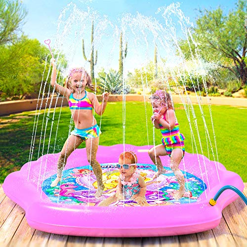 Princessea Splash Pad for Girls, XL 78""