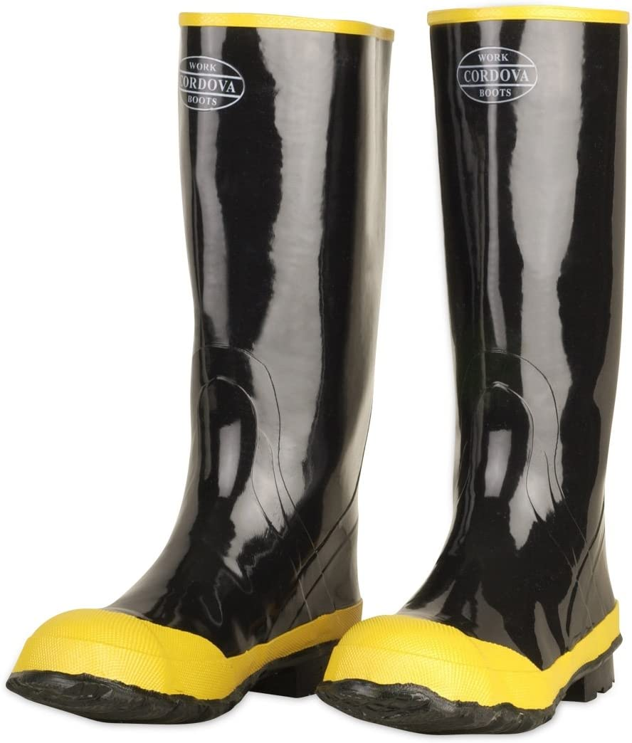 Cordova Safety Products Outlet ☆ Free Shipping BST-12 Steel famous Boot Shank Toe Rubber
