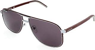 20b21e056 Óculos Lacoste L192S 038 Cinza Vinho Lente Cinza Flash Tam 61