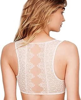 Victorias Secrets Dream Angels Coconut White Lace Plunge Bralette X-Large