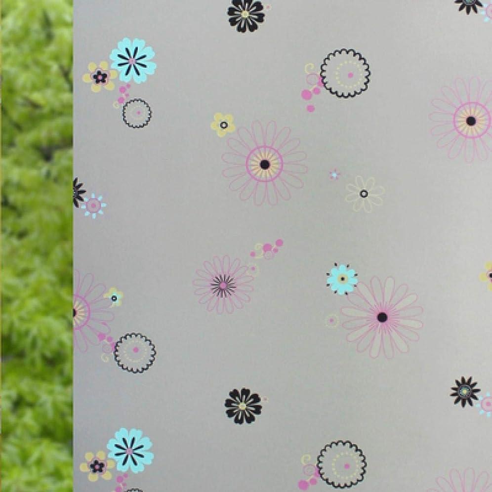 唯物論光景会話Claresnce 非粘着 つや消しウィンドウフィルム ガラスステッカー 長い自己粘着フィルム ウィンドウフィルム 曇りガラス スライドドア バスルーム ウィンドウステッカー 半透明 不透明 ホームデコ 幅23.6 x 長さ47.2