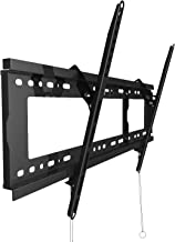 BLUE STONE Tilt TV Wall Mount Bracket for Most 32-80 Inches LED, LCD, OLED, Plasma Flat Screen, Curved TVs, Max VESA 600x400mm and 165lbs Loading, Low Profile, Fits 16