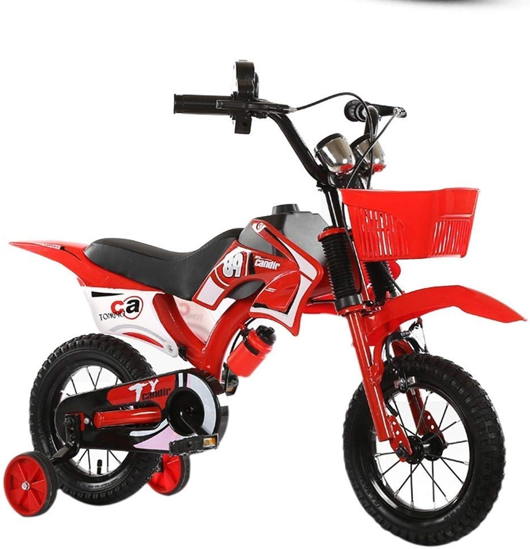 para mayoristas LJFYMX LJFYMX LJFYMX Bicicleta Bicicleta para Niños 4-5-6-7-8 años 16 Pulgadas Niño niña Niño Cochecito 3 años Bicicleta Niño 18 Bicicleta Pedal de Bicicleta ( Color   rojo , Talla   C )  alta calidad