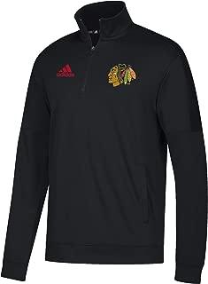 NHL Team Issue Badge of Sport Quarter Zip Fleece