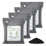 Best Charcoal Air Purifiers - CLEVAST Bamboo Charcoal Air Purifying Bags (4×200g), Removes Review