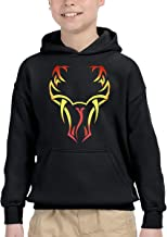 JOELEWIS Randy Orton Viper Boys and Girls Youth Sweatshirt Hoodie Black
