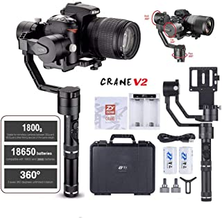 Zhiyun Crane V2 3 Axis Brushless Handheld Gimbal Stabilizer 3 32Bit MCUs Brushless Motors..