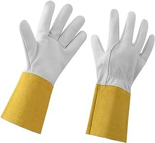 STEKETO Rose Pruning Gloves for Women/Men Thorn Proof Gardening Gloves Long Forearm Gauntlet