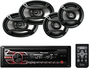 Pioneer DEH-150MP Single Din CD Player with one pair of TS-165P 6.5