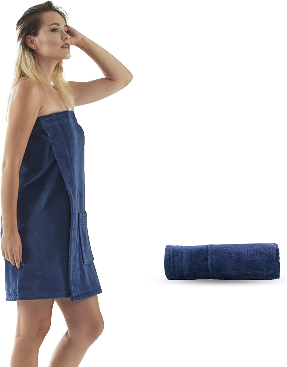 Towel Wrap for Women with Adjustable Fastener Hook and Max 72% OFF Loop 10 Max 78% OFF