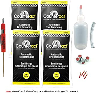 Counteract DIYK-10 Tire Balancing Beads Light Truck/Off-Road - 10oz DIY Kit (40oz)