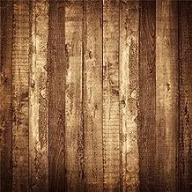 CSFOTO 6x6ft Vintage Wooden Board Backdrop Rustic Wooden Plank Old Wood Floor Grunge Rough Hardwood Background for Photography Children Kids Adult Photo Vinyl Wallpaper