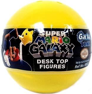 Tomy Gashopan Super Mario Galaxy Mini Desk Top Action Figure PVC Blind Pack