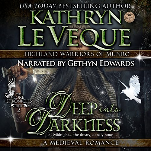 Deep into Darkness audiobook cover art