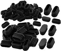 Limeow Stoelpootkussens Vloerbeschermers Vierkante eindkap Plastic eindkappen Pluggen Stoelpootkappen Meubelvoetenkap 40 x...